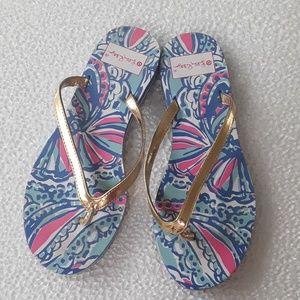 Lilly Pulitzer  for Target flip flops